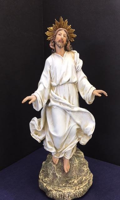 """Cristo Resucitado 12"""" - 41243"""