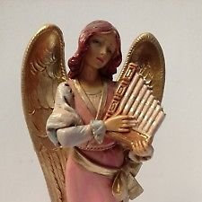 Maya angel con arpa - 75531