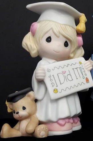 Graduada niña con oso - 173014