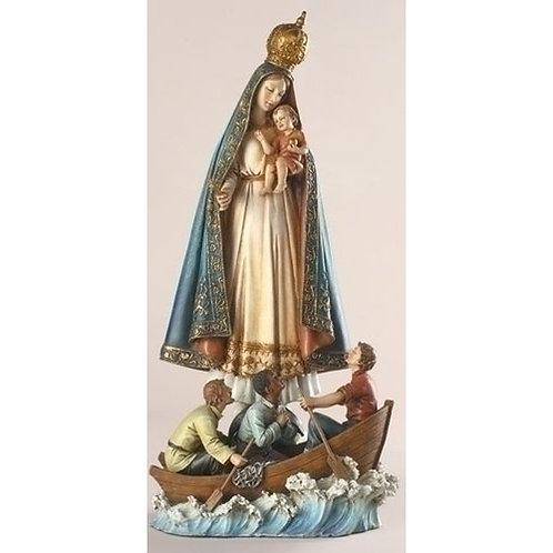 Virgen de la Caridad color- 8816