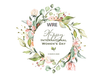 WiRE's annual International Women's Day Event postponed