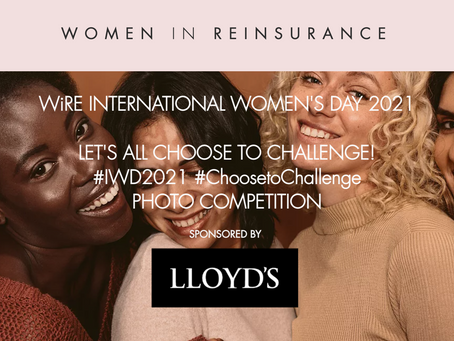 WiRE Announce Prizes for Photo Competition #ChoosetoChallenge #IWD2021