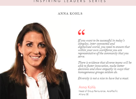"""WiRE presents """"Inspiring Leaders Series"""" – an interview with Ms. Anna Kohls, Allianz SE"""