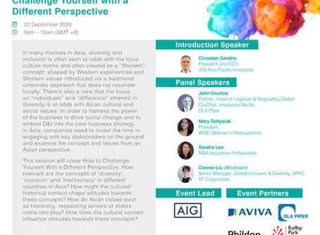"""WiRE is joining """"Challenge Yourself with a Different Perspective"""" panel at the Dive In Festival 2020"""