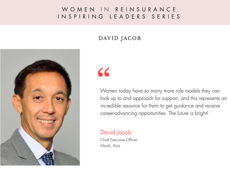 "WiRE presents ""Inspiring Leaders Series"" – an interview with David Jacob, Marsh"