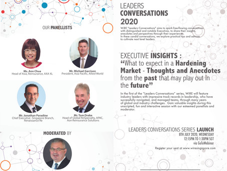 """WiRE's """"Leaders Conversations 