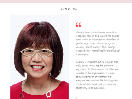 """WiRE presents """"Inspiring Leaders Series"""" – an interview with Ms Ann Chua, AXA XL, a division of AXA"""