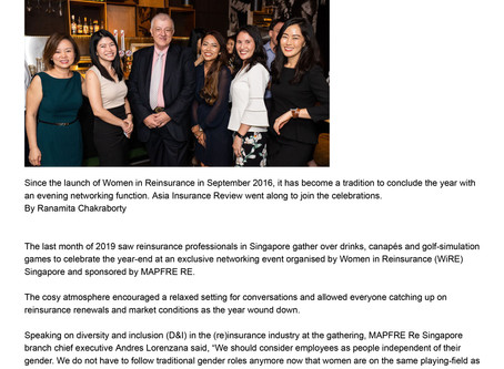 WiRE's Year-End Event featured in AIR's Diversity & Inclusion section