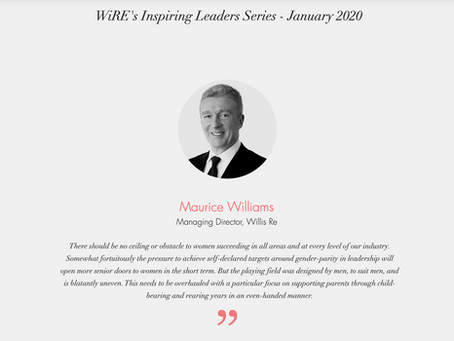 """WiRE presents """"Inspiring Leaders Series""""  - an interview with Mr. Maurice Williams"""