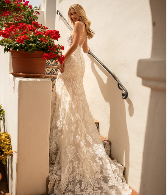 Style J6775  SIZES 2-28  FABRIC Net/Shimmer organza  SHOWN IN Ivory / Ivory / Gold  AVAILABLE COLORS Ivory/Ivory/Gold, Ivory/Ivory/Ivory