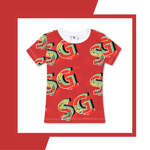 SG Red Adult T-shirt