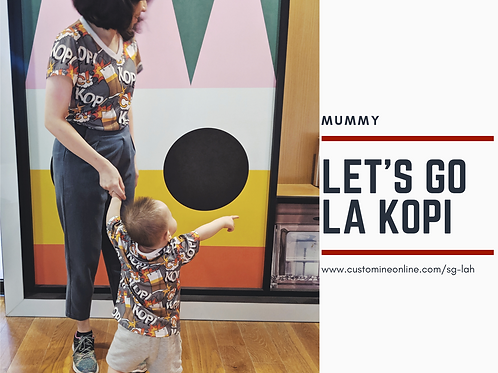 I love Kopi-C Adult T-shirt