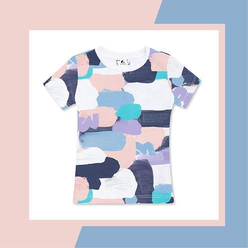 Pink Pastel Paint  - Adult T-shirt