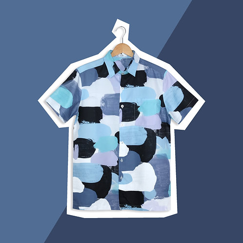 Blue Pastel Paint - Daddy Shirt