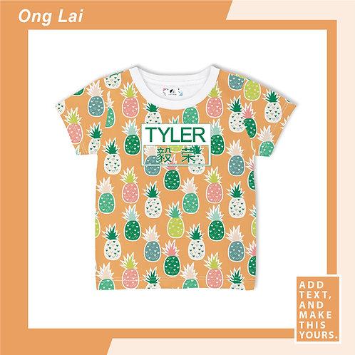 Ong Lai- T-shirt (Kid)  - Orange