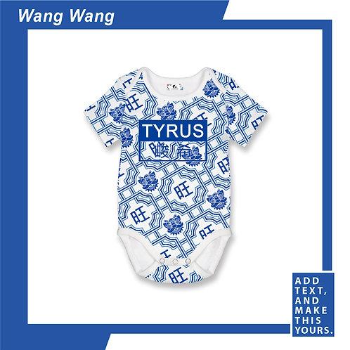 Wang Wang - Romper - Blue