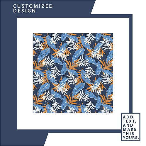 Sky Blue Bali Bohemian  - Soft Chiffon Scarf