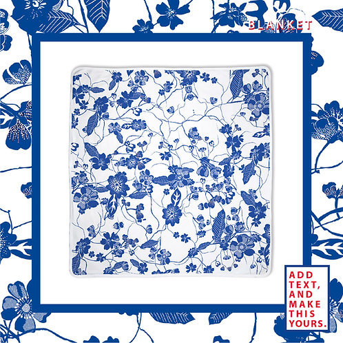 Blue & White Porcelain Blanket