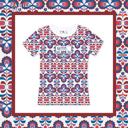 Tripetals Adult T-shirt