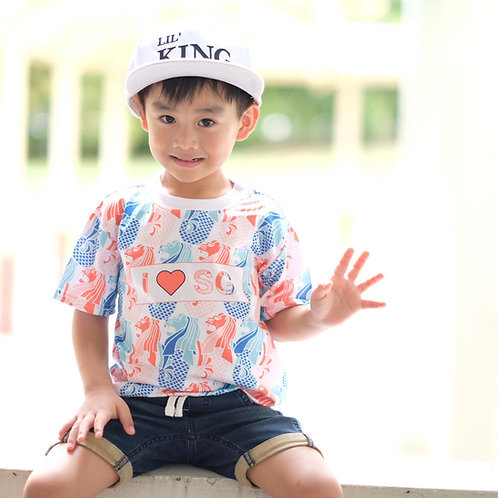 Hi Merlion T-shirt (Kid)