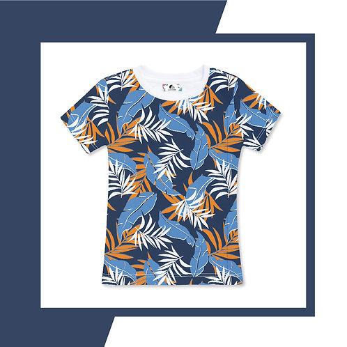 Sky Blue Bali Bohemian  - Adult T-shirt