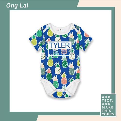 Ong Lai - Romper - Blue
