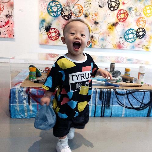 CUSTOMINEart by Little ARTIST - wear your own art! ROMPER/TEE
