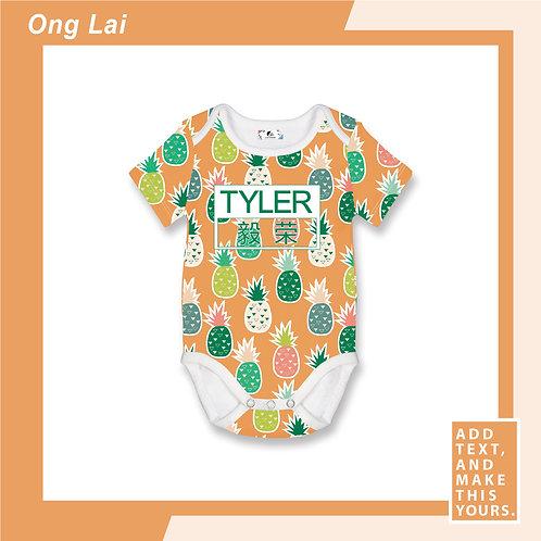 Ong Lai - Romper - Orange