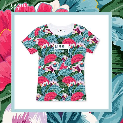 Flower Blossom Adult T-shirt