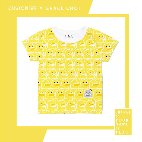 Quack Quack Ducky T-shirt (Kid) by Grace Choi