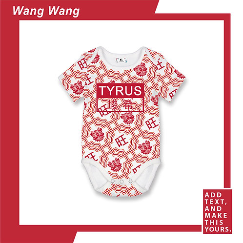 Wang Wang - Romper - Red