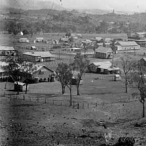 View of the Chillagoe town in 1923.