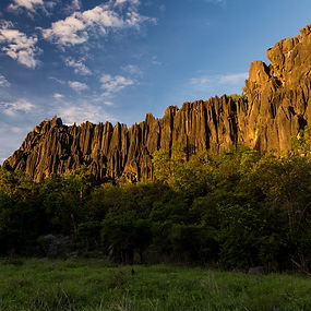 Limestone formations called Karsts surround Chillagoe