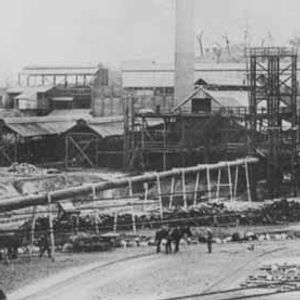 Chillagoe smelter opened in 1901. c1912