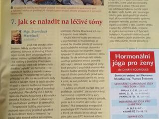 Článek v časopisu Meduňka 11/2019  JAK SE NALADIT NA LÉČIVÉ TÓNY