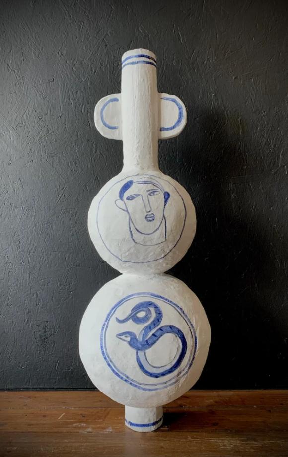 'Paradise' decorative vase