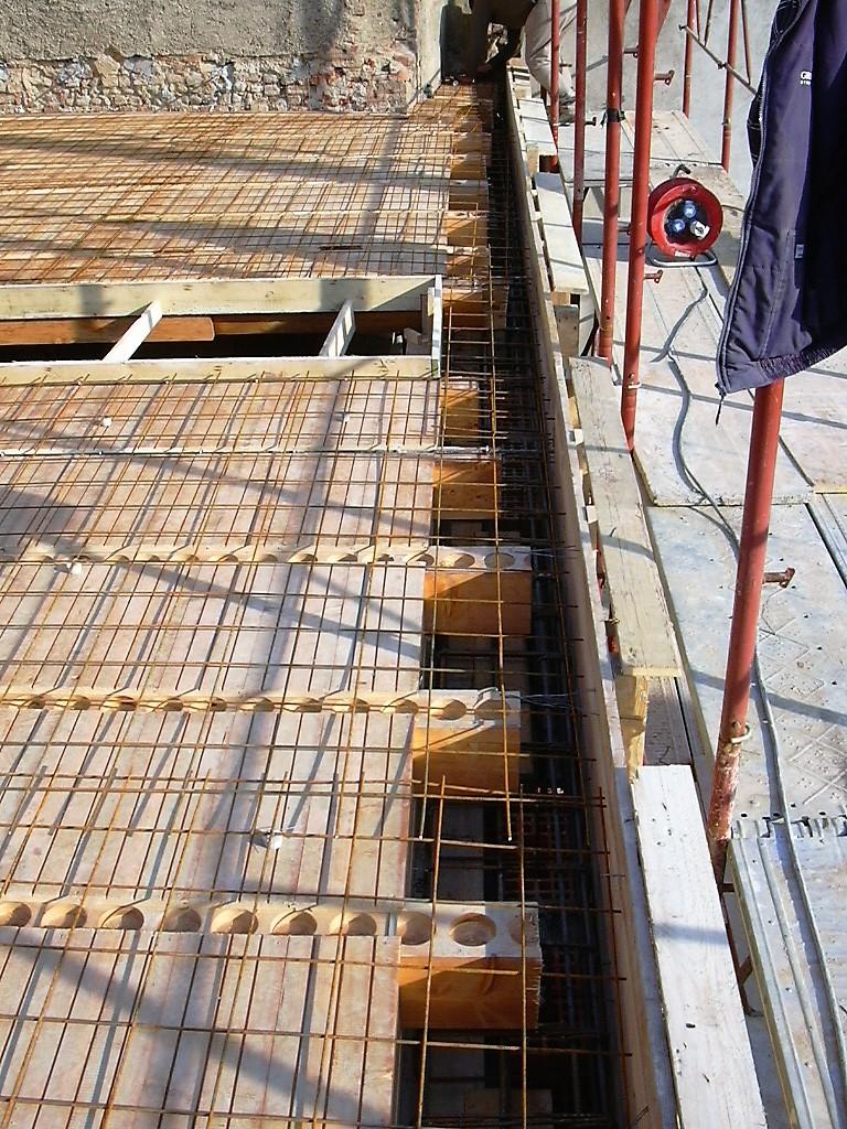 Creazione Solaio in legno