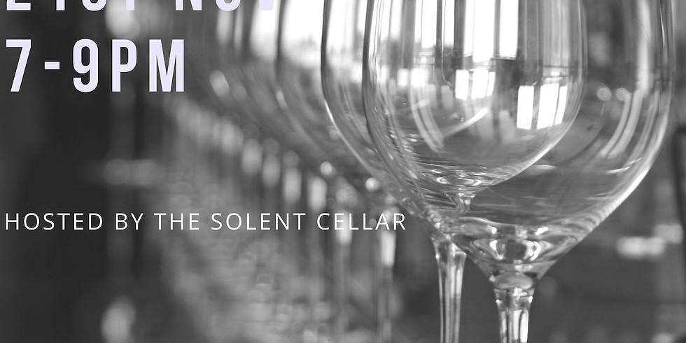 Christmas Wine Tasting @Ginjams with Solent Cellar