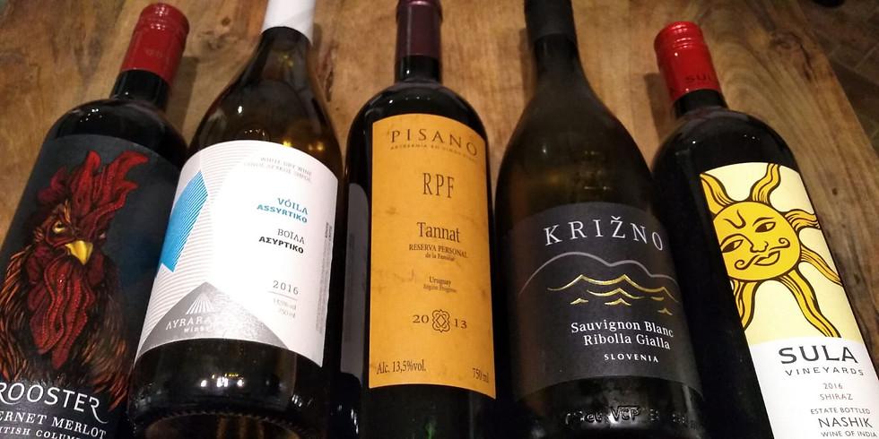 Wine Tasting at Ginjams