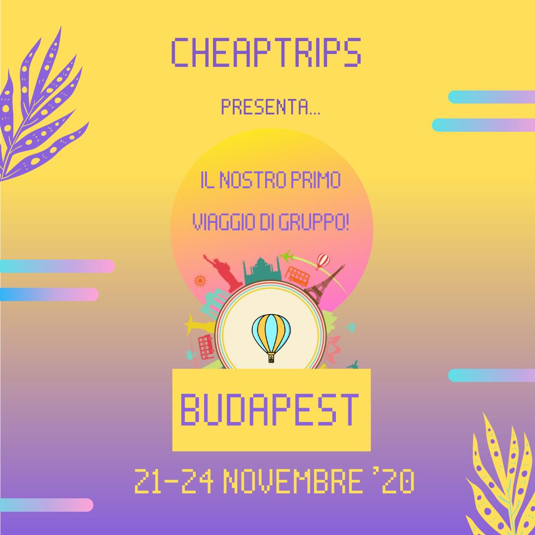 Viaggio di gruppo a Budapest!