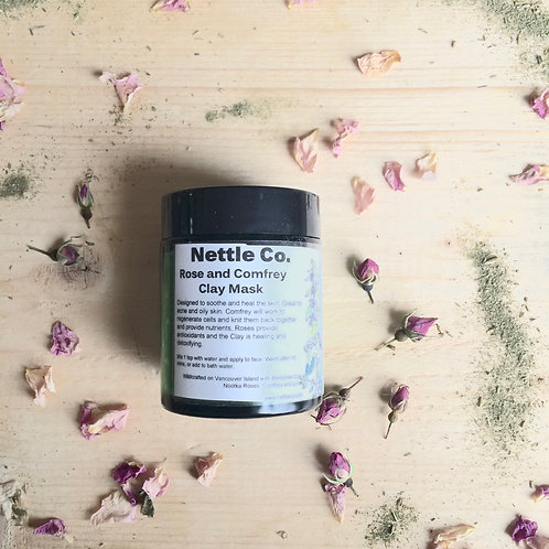 NOOTKA ROSE AND COMFREY FACE MASK