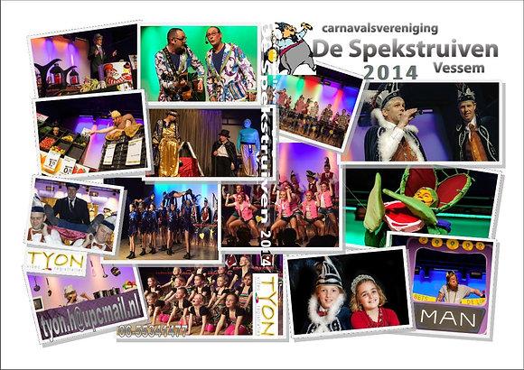 SPEKSTRUIVEN Zittingsavond 2014 DVD
