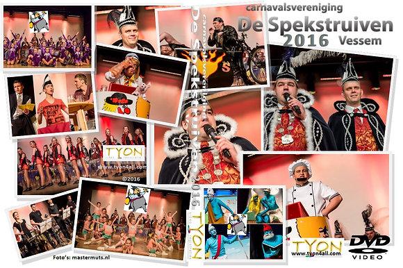 SPEKSTRUIVEN Zittingsavond 2016 DVD
