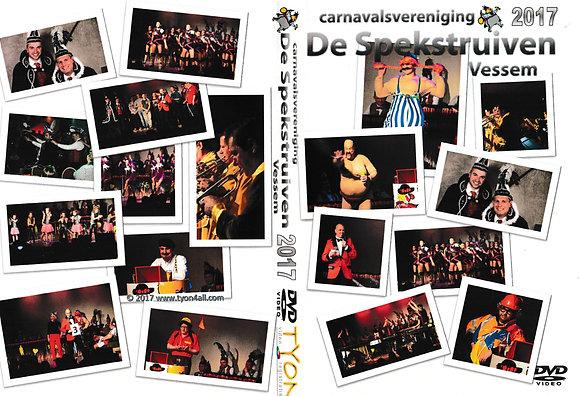 SPEKSTRUIVEN 2017  Zittingsavond+optocht DVD