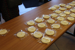 Cookies from Fr. David's Anniversary Mass