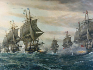 Inspiration: Second Battle of the Virginia Capes