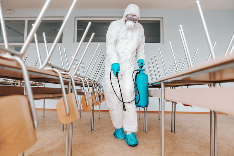 school contract cleaning from React Specialist Cleaning