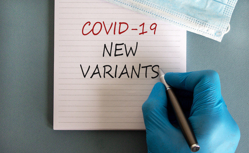 Covid-19 variants causing concern