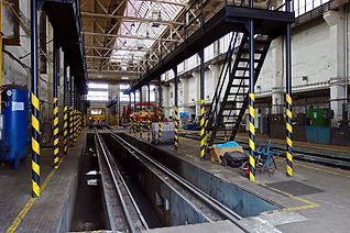 rail maintenenace pit cleaning from Reac