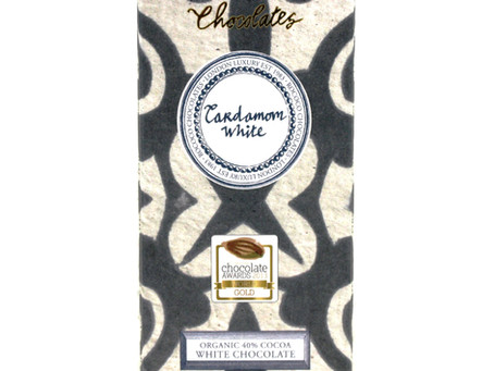 Kirkhams Lancashire with  Rococo Chocolate Cardamom White